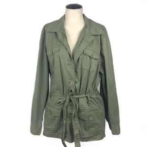 Style & Co Military Style Jacket
